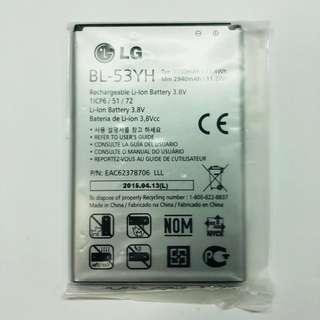 原裝正貨 LG Optimus G3 F400 D855 LTE BL-53YH 原廠電池 battery 3000MAH 充電池 包平郵