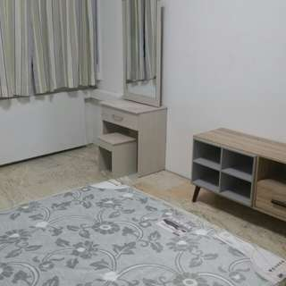 Tampines Master bedroom with ensuite bathroom