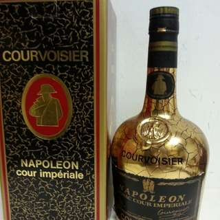 Courvoisier Napoleon Cognac 拿破倫爆列金樽干邑 700ml