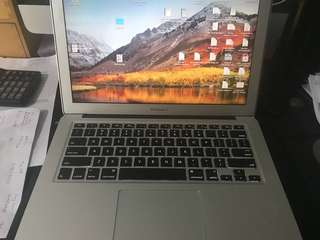 MacBook Air 13 inch mid 2012