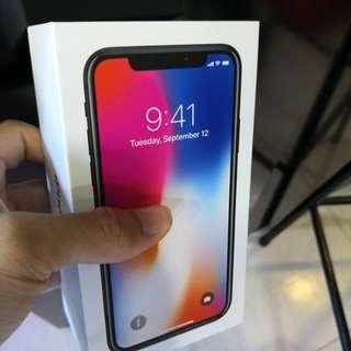 Brand new 256gb apple iphone x grey