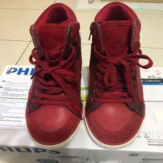 🚚 Aldo-內增高6公分 球鞋款筒靴