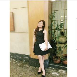 Rok Hitam / black skirt