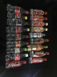 Coca Cola Bottles (plastic/empty)
