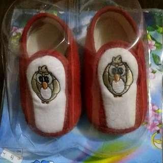 Sepatu owl baby 3-6bln