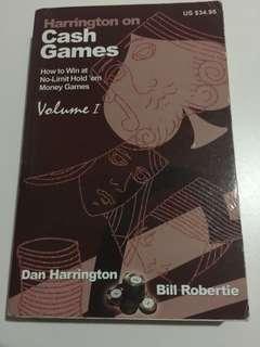 Harrington on cash games volumes 1 2, poker books