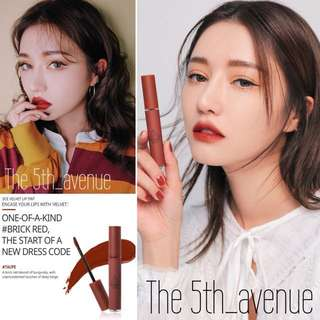 [Instock] 3CE Velvet Lip Tint - Taupe (Authentic)