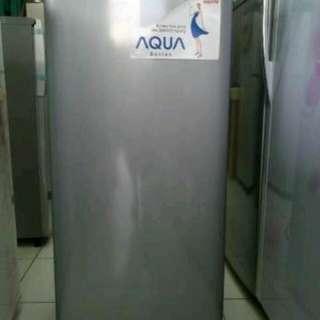 Cuma 199rb kulkas 1 pintu dari aqua japan cicilan tanpa CC