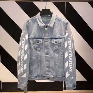 OFF-White 18ss Temperature Denim Shirt
