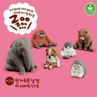 Zoo 休眠 睡覺動物 戽斗星球3 換物 扭蛋