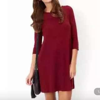 名牌羊毛針織裙