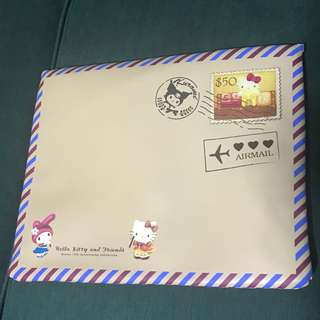 New Limited Edition SingPost Special Hello Kitty & Friends MyStamp Laptop Bag