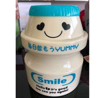 Cute Yakult Theme Coin Bank