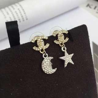 Chanel 星月耳環