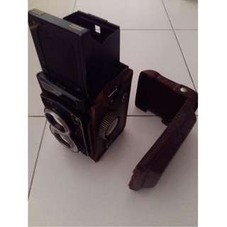 Antique B & W Camera