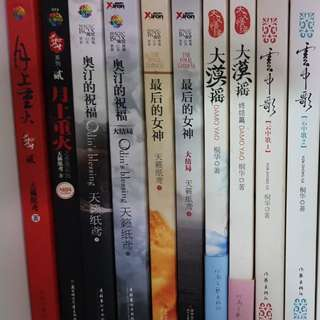 Chinese Novels from Drama Series