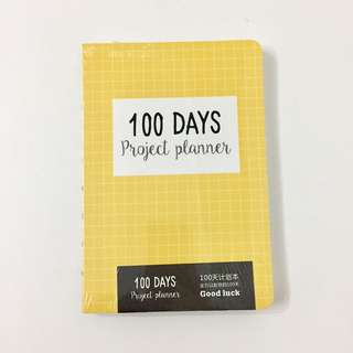 B6 Notebook Journal Planner in Yellow