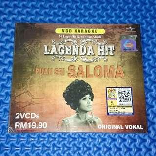 🆕 Puan Sri Saloma - Lagenda Hit 2VCD [2014] VCD Karaoke
