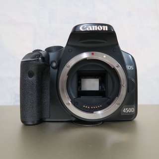Canon EOS 450D + Battery Grip