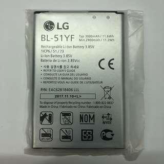 原裝 LG Optimus G4 H815 H818 H819 BL-51YF battery 3000MAH 充電池