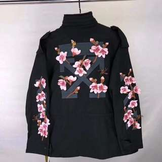 OFF-WHITE Flower Embroidered Jacket