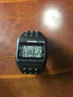 Shhors電子錶3成新
