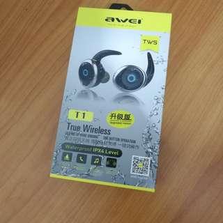 Awei Bluetooth True Wireless Earpieces