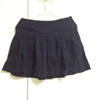 FRENCH CONNECTION mini skirt black 迷你裙 黑色