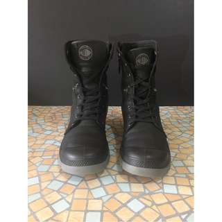Palladium high cut boots
