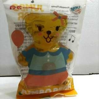 韓國GS25限定 巨大熊熊軟糖 (鳳梨口味)