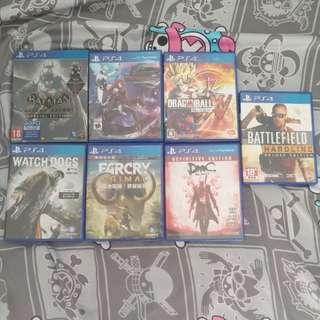 PS4遊戲$110隻