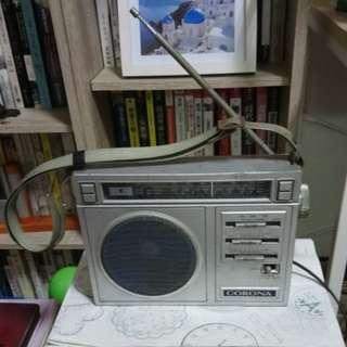 CORONA老收音機