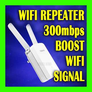New Wireless WIFI Repeater to boost wifi signal coverage - with 🔴easy to follow video setup guide🔴.