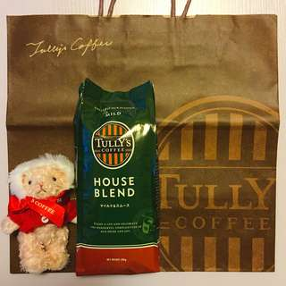 Tully's Coffee Beans House Blend Japan 日本招牌咖啡豆