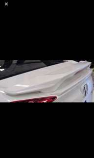 BNIB Honda Civic FC stock white spoiler
