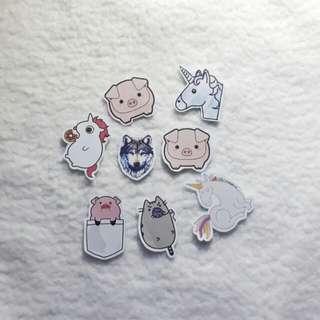 Stickers (4pcs)