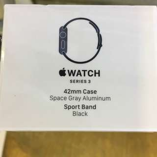 [徵收(want buy)] iwatch , 全新未開封 Apple Watch ( Series 3 )