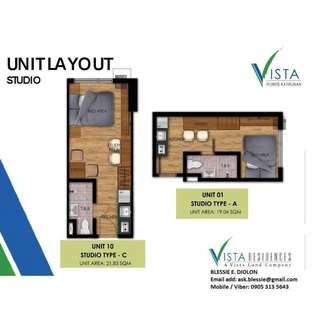 Few units left !! condo in katipunan for only 15,000 monthly !