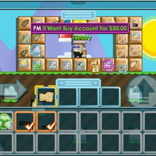 Growtopia Account For Sale
