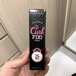 BNIB Etude House Curl fix mascara black