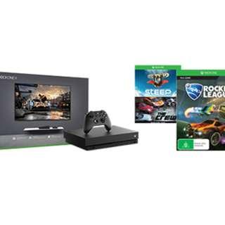 New Xbox One X (1TB) Console