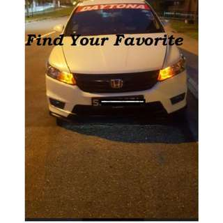 Honda Stream on T10 wedge super bright CREE project lens types for pole lights - CASH&CARRY