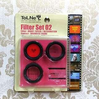 絕版 TolNe 玩具 lomo 相機用 濾鏡組 tomy takara 底片相機