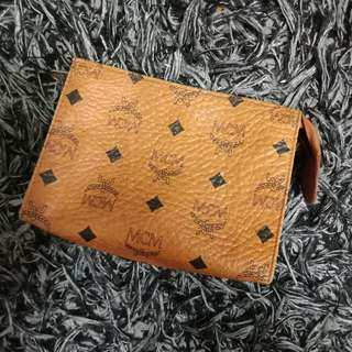 Auth. MCM Mini Clutch Bag