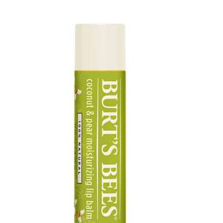 Burt's Bee Coconut & Pear Limited Edition Lip Balm