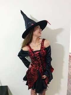 Witch Halloween Ladies Costume