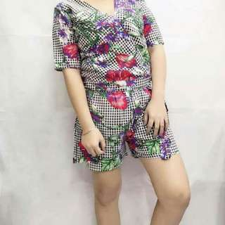 FREE SIZE FIT TO SEMI-LARGE  ☑SUMMER TERNO ☑BROADCLOTH FABRIC  ORDER NOW!!