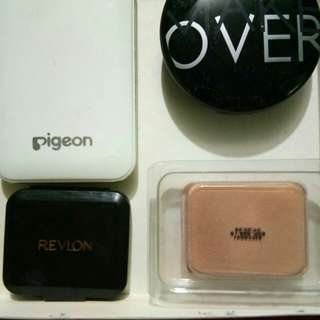 Compact Powder Pigeon, Revlon, Makeover, Inez