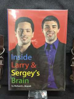 # Highly Recommended《New Book Condition + Hardcover Edition + Google Founders Biography》 Richard L. Brandt - INSIDE LARRY AND SERGEY'S BRAIN