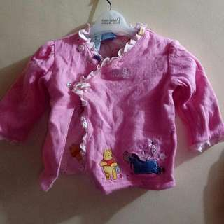 minnie the pooh pink jacket